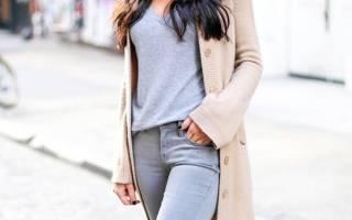 Серые джинсы скинни с чем носить. С чем носить серые джинсы, чтоб выглядеть стильно и актуально? Звездный пример комбинирования серых джинсов