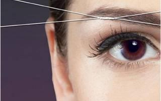 Удаление волос над верхней губой ниткой. Как выщипывать волосы на лице и теле ниткой. Сворачивание нити и выщипывание