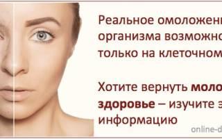 Cамые лучшие способы омоложения лица. Как омолодить организм в домашних условиях