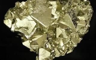 Железистый пирит. Пирит — золотой камень для получения огня