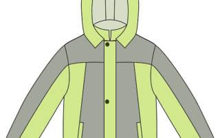 Выкройка детской утепленной куртки для мальчика. Шьем детскую зимнюю куртку