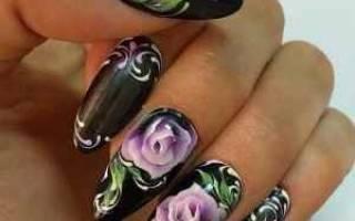 Ногти белый френч с китайскими иероглифами красивые. Китайская роспись на ногтях, фото. Видео уроки для начинающих. Стильный французский маникюр с китайской росписью
