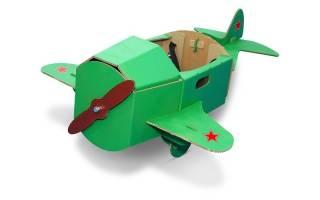 Самолет своими руками из картона. Мастер-класс с пошаговыми фото. Как сделать самолет из картона
