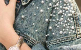 Как красиво украсить джинсовую куртку. Как обновить старую куртку? Вышивка на джинсовке: идеи для вдохновения