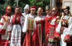 Русский национальный костюм история. Старинная женская одежда и ее наименования