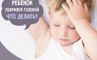 Удар головой затылком последствия ребенка. Что делать, если ребенок ударился головой: советы врача