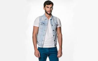 Как носить мужской джинсовый жилет. Как носить мужской жилет