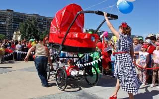 Украшение коляски для мальчика. Идеи украшения детских колясок для парада