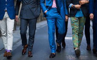 Разные виды брюк. Брюки и штаны в мужском гардеробе