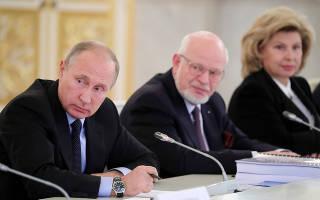 Совет при президенте российской федерации по развитию гражданского общества и правам человека