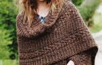 Вязание девочкам пальто. пончо спицами. Вязание спицами пончо, подборка