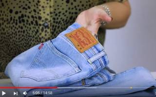 Как красиво обрезать низ джинсов. Как подшить джинсы с сохранением фабричной варки своими руками пошаговый мастер класс на ютуб канале