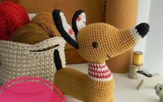 Вязаная новогодняя собака. Вязаная собачка амигуруми крючком (мастер-класс). Собаки из бутылок
