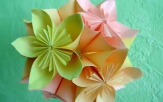 Цветочный шар оригами из бумаги своими руками. Бесплатные мастер классы по созданию модульных шаров оригами, пошаговые фото и описание