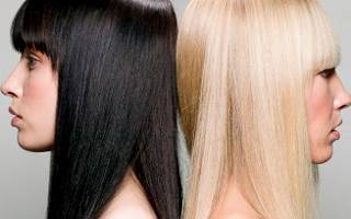 Хочу изменить цвет волос черный на естественный. Правила и способы смены оттенка волос