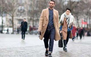 С чем можно носить мужское пальто. С чем носить мужские осенние пальто
