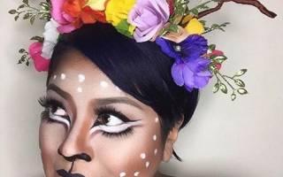Идеи макияжа на хэллоуин. Макияж «шокирующее рваное лицо»