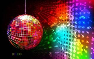 Украшение вечеринка в стиле 80. Динамичный стиль диско в одежде для молодых и активных