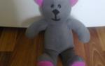 Как делать медведя из ткани. Мягкая игрушка медведя своими руками. Пошаговая инструкция пошива, выкройки для начинающих