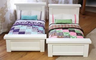 Подушку и одеяло для куклы сшить самой. Постельное белье для кукольной кроватки: набор для развития ребенка