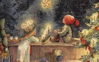 Ночь перед Рождеством. Традиции и каноны. Рождественский сочельник. Что делать в сочельник перед рождеством — обычаи и приметы