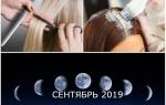 Стрижка и окраска волос в сентябре. Лунный календарь стрижек и окрашивания на сентябрь