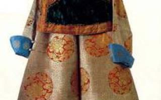 Монгольская национальная одежда. Монгольская национальная одежда и украшения