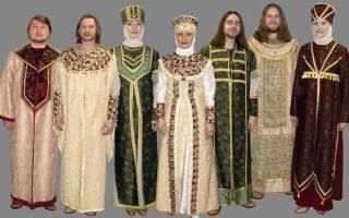 Какую одежду носят русские люди. Особенности женской одежды Древней Руси. II. Повторение изученного на прошлом уроке