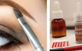Окрашивание бровей хной для волос. Как красить брови хной — что советует профессионалы