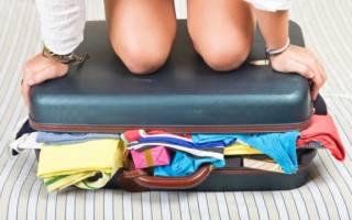 Как правильно собрать чемодан в дорогу. Советы отдыхающим: как собрать чемодан на море