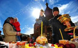 Считается ли пасха праздником. Традиционные блюда на пасхальный стол. Государственные праздники в России — краткое описание