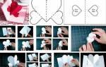 Какие валентинки можно сделать своими руками из бумаги. Открытки — валентинки из бумаги своими руками. Мастер-класс с пошаговыми фото