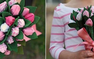 Конфетно цветочный букет. Простые букеты из конфет для новичков. Как сделать с пошаговым фото