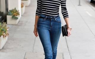Что носить с джинсами весной? Много стильных идей. Джинсы-трубы – кому идут, с чем носить и как создавать модные образы