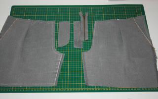 Как вшивать молнию в брюки: пошаговая инструкция. Гульфик