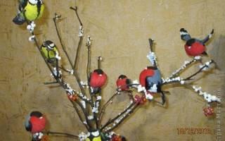 Поделка птица своими руками из ватных. Зимнее панно Снегири своими руками. Мастер-класс с пошаговыми фото. Поделка из ваты снегирь своими руками