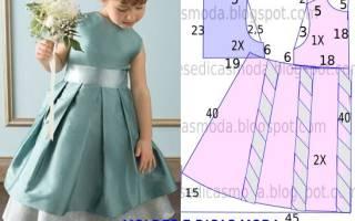 Выкройка платья с рукавом 6 лет. Урок по моделированию: Как сшить летнее платье для девочки. Преимущества самостоятельного изготовления